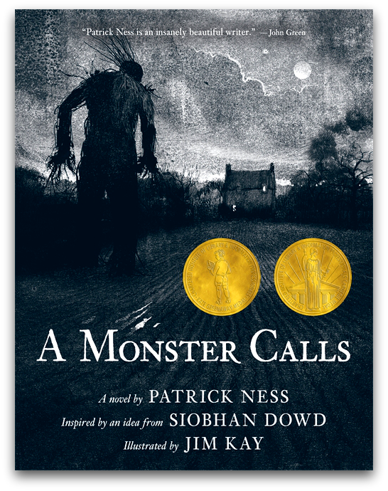 a monster calls reader response A monster calls by patrick ness, published by candlewick in 2011,  patrick  ness addresses the reader and tells the short and sad tale of.