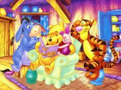 Kumpulan gambar kartun winnie the pooh Yang Lucu dan Imut B